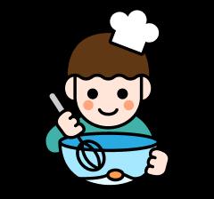 料理をする