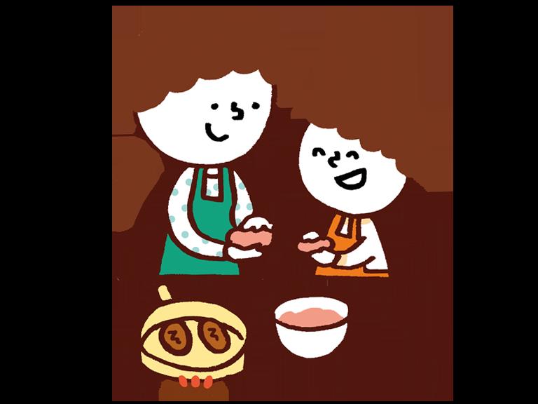 子どもと一緒に料理をしたいと思っている/思ったことがある
