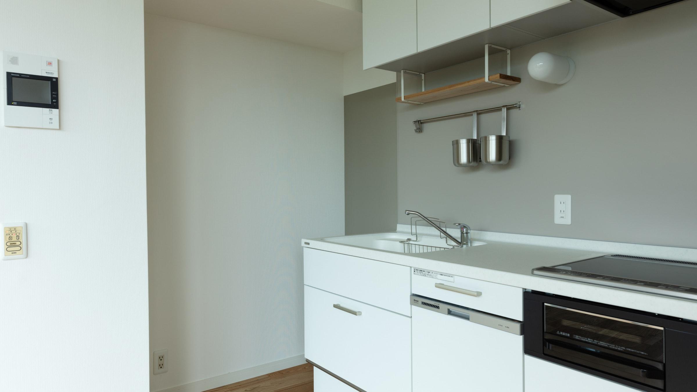 たのしいキッチン住宅施工物件事例1