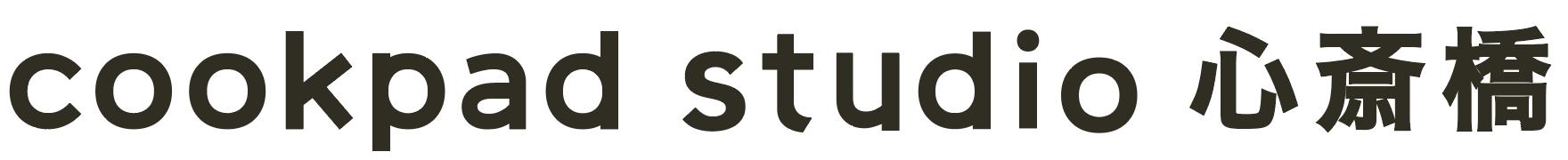 Logo studio shinsaibashi